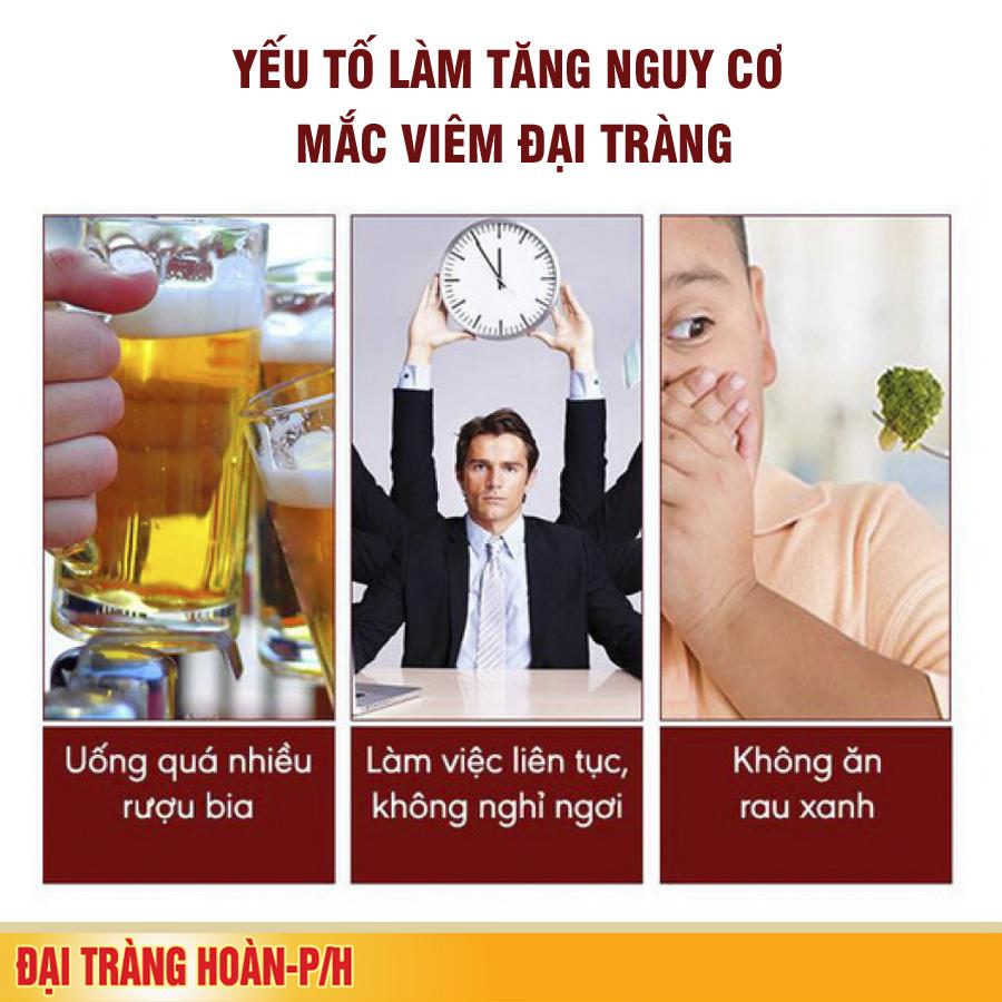 Rối loạn tiêu hóa sau khi uống rượu bia, cảnh báo nguy cơ viêm đại tràng